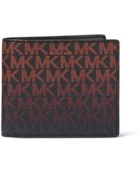 Michael Kors - Jet Set Monogram Rfid-protection Wallet - Lyst