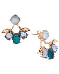 Lonna & Lilly - Goldtone Faceted Floater Earrings - Lyst
