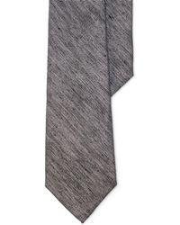Lauren by Ralph Lauren - Herringbone Linen-silk Tie - Lyst