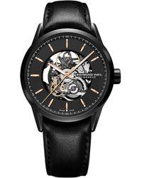 Raymond Weil - Freelancer Automatic Skeleton Watch - Lyst