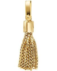 Michael Kors - Custom Kors 14k Gold - Plated Sterling Silver Tassel Charm - Lyst