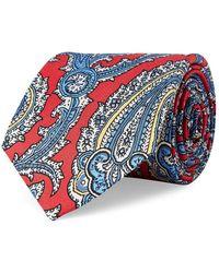 Lauren by Ralph Lauren - Paisley Silk Tie - Lyst