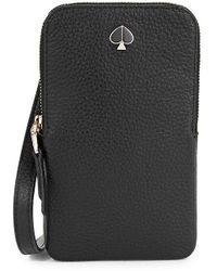 Kate Spade Iphone Cases Polly Phone Crossbody Bag - Black