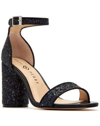 Katy Perry - Clara Glitter Ankle-strap Sandals - Lyst