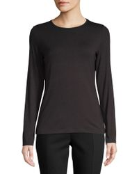 Lord & Taylor - Long-sleeve Iconic Fit Crew Neck Tee - Lyst