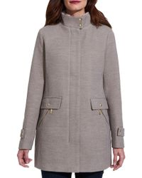 Weatherproof - Stand Collar Topper - Lyst