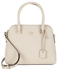 Kate Spade - Maise Leather Dome Satchel - Lyst