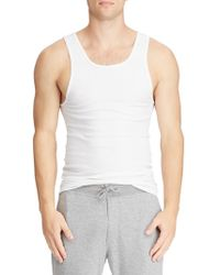 Polo Ralph Lauren Tall 2-pack Classic-fit Tanks - White