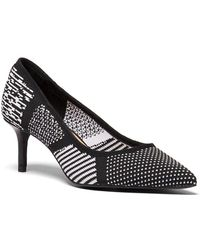 NIC+ZOE - Carmen Knitted Court Shoes - Lyst