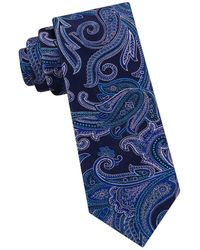 Ted Baker - Silk Paisley Tie - Lyst