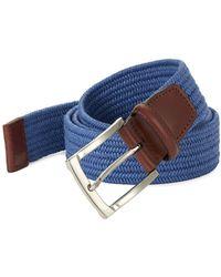 Perry Ellis - Fabric Belt - Lyst