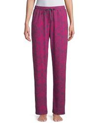 Sesoire - Printed Drawstring Pajama Pants - Lyst