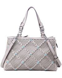 Chinese Laundry - Ayo Perforated And Studded East West Tote - Lyst