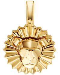 Michael Kors Sterling Silver Lion Charm - Metallic