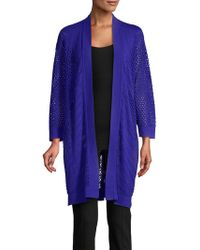 Nipon Boutique - Open-front Cardigan - Lyst