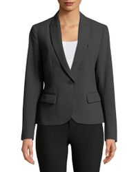 Anne Klein - One-button Blazer - Lyst
