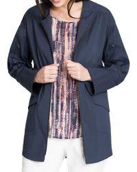 NIC+ZOE - Snap-sleeve Zip Jacket - Lyst