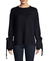 Vero Moda - Long-sleeve Knit Top - Lyst