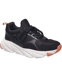 French Connection Riley Sneaker - Black