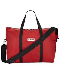 HUNTER - Military Weekender Bag - Lyst