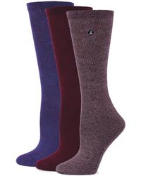 Sperry Top-Sider - Three-pack Bamboo Marled Crew Socks - Lyst