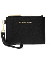 MICHAEL Michael Kors - Mercer Leather Coin Purse - Lyst