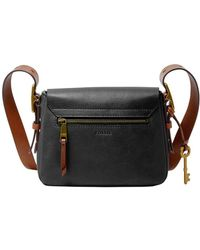 Fossil - Harper Leather Crossbody Bag - Lyst