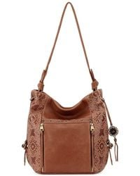The Sak - Ojai Leather Hobo Bag - Lyst