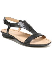 Naturalizer - Windham Leather Slingback Sandals - Lyst