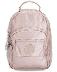 Kipling Alber 3-in-1 Convertible Mini Nylon Backpack - Pink