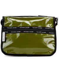 Marc Jacobs Olive Shine Messenger Bag - Green