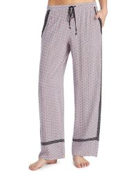 Kensie - Patch Print Lounge Trousers - Lyst