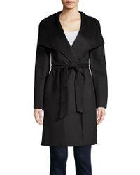 Tahari - Belted Wrap Coat - Lyst