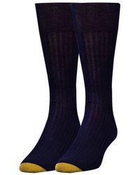 Goldtoe | Comfort Toe Seam Socks | Lyst