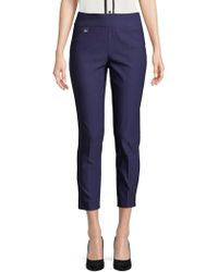 Lord & Taylor - Stretch Cropped Pants - Lyst