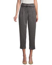 Jones New York - Textured Cropped Pants - Lyst
