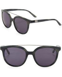 B Brian Atwood - 54mm Round Bar Sunglasses - Lyst