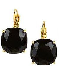 Kate Spade - Faceted Square Drop Earrings - Lyst