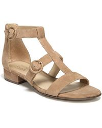 Naturalizer - Mabel Suede Sandals - Lyst