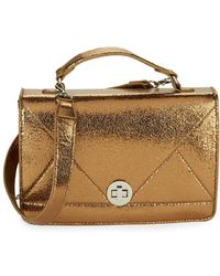 Lord & Taylor - Boxy Shoulder Bag - Lyst