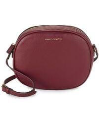 Vince Camuto - Diann Round Leather Crossbody Bag - Lyst