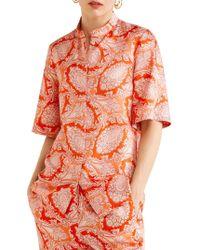 Mango - Paisley Print Blouse - Lyst