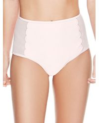 Betsey Johnson - Malibu Hi-waist Bikini Bottoms - Lyst