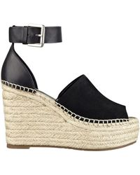 Marc Fisher - Adalyn Suede Wedge Sandals - Lyst