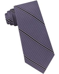 Michael Kors - Striped Silk Tie - Lyst
