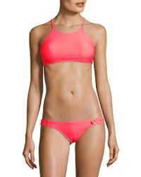 Body Glove - Smoothies Solid Elena Cropped Top - Lyst