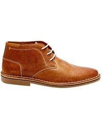 Steve Madden | Hestonn Leather Desert Boots | Lyst