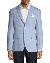 Tallia Orange - Chambray Linen Suit Separate Jacket - Lyst