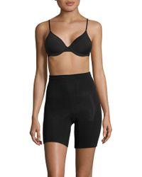 Spanx - Black 'power Series' Shorts - Lyst