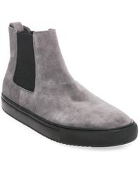 Steve Madden - Dalston High Top Suede Trainers - Lyst